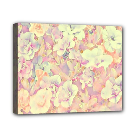 Lovely Floral 36b Canvas 10  x 8