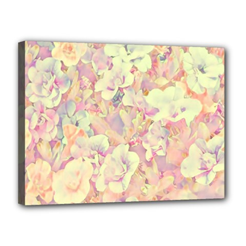 Lovely Floral 36b Canvas 16  X 12