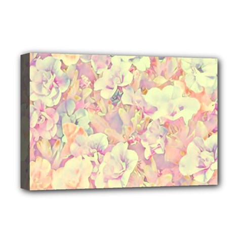 Lovely Floral 36b Deluxe Canvas 18  x 12