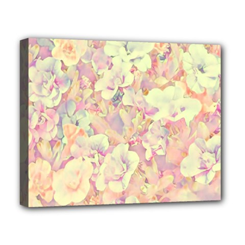 Lovely Floral 36b Deluxe Canvas 20  x 16
