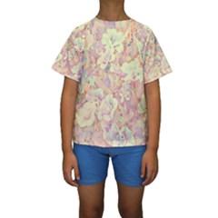 Lovely Floral 36b Kids  Short Sleeve Swimwear