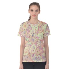 Lovely Floral 36b Women s Cotton Tee