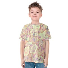 Lovely Floral 36b Kids  Cotton Tee