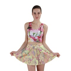 Lovely Floral 36b Mini Skirt
