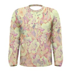 Lovely Floral 36b Men s Long Sleeve Tee