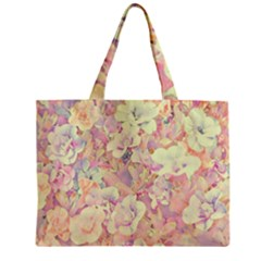 Lovely Floral 36b Zipper Mini Tote Bag