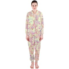 Lovely Floral 36b Hooded Jumpsuit (Ladies)