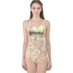 Lovely Floral 36b One Piece Swimsuit