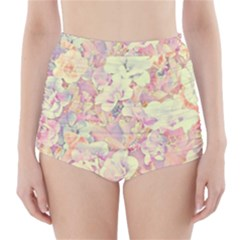 Lovely Floral 36b High-Waisted Bikini Bottoms