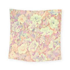 Lovely Floral 36b Square Tapestry (Small)