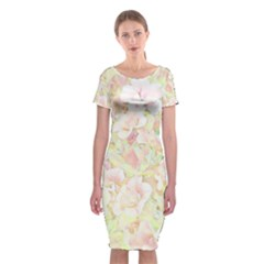Lovely Floral 36c Classic Short Sleeve Midi Dress