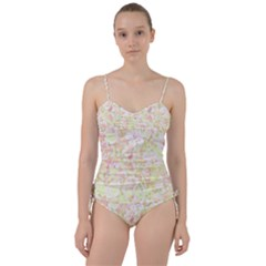 Lovely Floral 36c Sweetheart Tankini Set