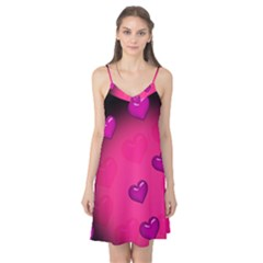 Background Heart Valentine S Day Camis Nightgown