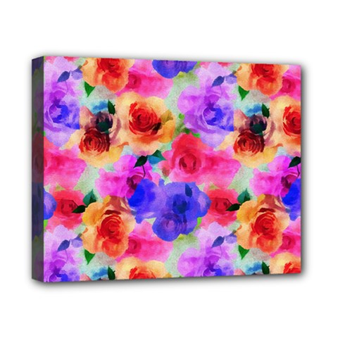 Floral Pattern Background Seamless Canvas 10  X 8