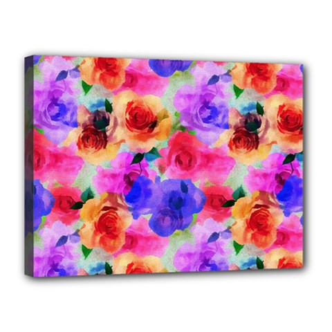 Floral Pattern Background Seamless Canvas 16  X 12