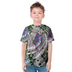Water Ripple Design Background Wallpaper Of Water Ripples Applied To A Kaleidoscope Pattern Kids  Cotton Tee