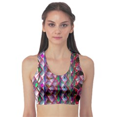 Textured Design Background Pink Wallpaper Of Textured Pattern In Pink Hues Sports Bra