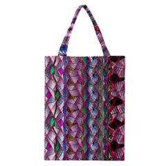 Textured Design Background Pink Wallpaper Of Textured Pattern In Pink Hues Classic Tote Bag