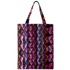 Textured Design Background Pink Wallpaper Of Textured Pattern In Pink Hues Zipper Classic Tote Bag