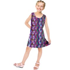 Textured Design Background Pink Wallpaper Of Textured Pattern In Pink Hues Kids  Tunic Dress