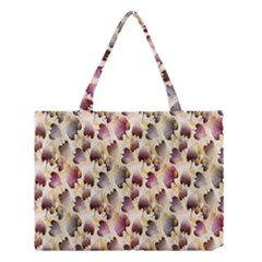 Random Leaves Pattern Background Medium Tote Bag