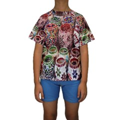 Colorful Oriental Candle Holders For Sale On Local Market Kids  Short Sleeve Swimwear
