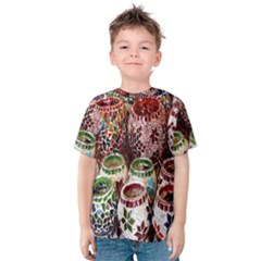 Colorful Oriental Candle Holders For Sale On Local Market Kids  Cotton Tee