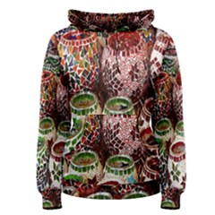 Colorful Oriental Candle Holders For Sale On Local Market Women s Pullover Hoodie