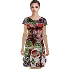Colorful Oriental Candle Holders For Sale On Local Market Cap Sleeve Nightdress