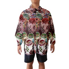 Colorful Oriental Candle Holders For Sale On Local Market Wind Breaker (kids)