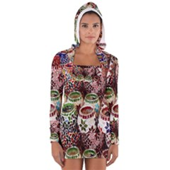 Colorful Oriental Candle Holders For Sale On Local Market Long Sleeve Hooded T Shirt