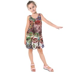 Colorful Oriental Candle Holders For Sale On Local Market Kids  Sleeveless Dress