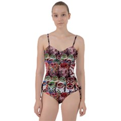 Colorful Oriental Candle Holders For Sale On Local Market Sweetheart Tankini Set