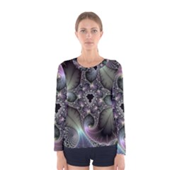 Precious Spiral Women s Long Sleeve Tee