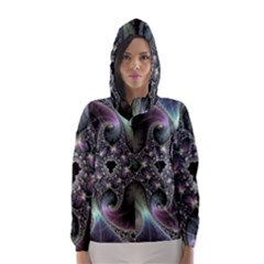 Precious Spiral Hooded Wind Breaker (women)