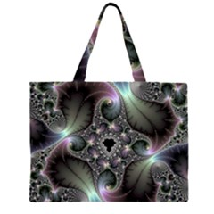 Precious Spiral Zipper Large Tote Bag