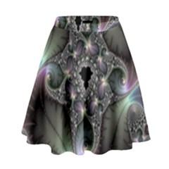 Precious Spiral High Waist Skirt