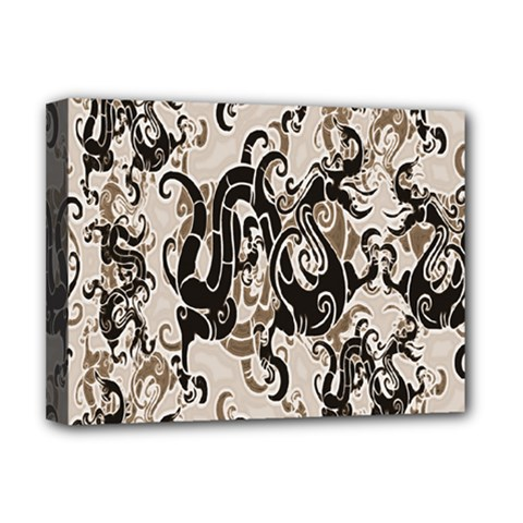 Dragon Pattern Background Deluxe Canvas 16  X 12