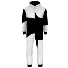 Greyhound Silhouette Hooded Jumpsuit (Men)
