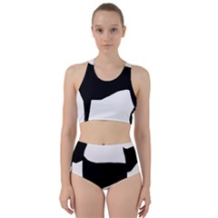 Greyhound Silhouette Bikini Swimsuit Spa Swimsuit
