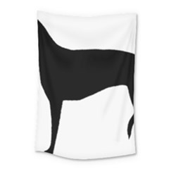 Greyhound Silhouette Small Tapestry