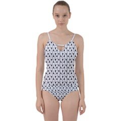 Flying V Electric Guitar Color Picker Print Cut Out Top Tankini Set