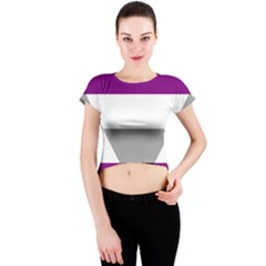 Autochorissexual Crew Neck Crop Top