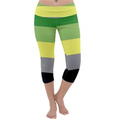 Aromantic Capri Yoga Leggings