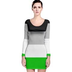 Androphilia Long Sleeve Velvet Bodycon Dress