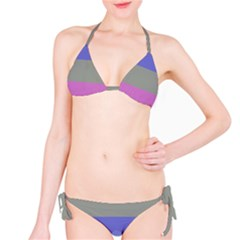 Androgynous Bikini Set