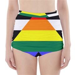 Ally High-Waisted Bikini Bottoms
