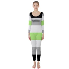 Agender Long Sleeve Catsuit