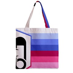 adult baby diaper lover Zipper Grocery Tote Bag