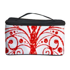 Ruby Butterfly Cosmetic Storage Case